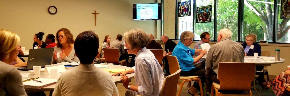 Catholics Gather for Summer Grant Writing Workshop