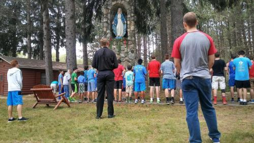 CSM-campers-pray-the-Angelus-twice-daily