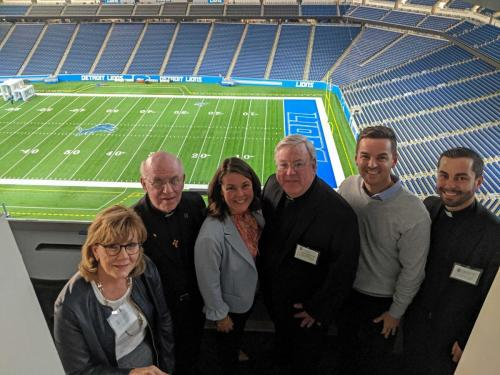 Founders Circle Tours Ford Field